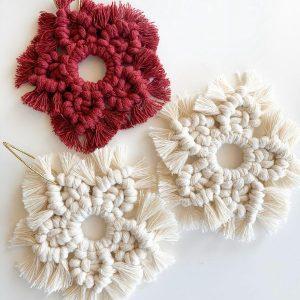 Macrame Ornaments